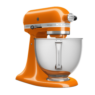 Mixer tilt-head 4.8L- Artisan with extra accessories